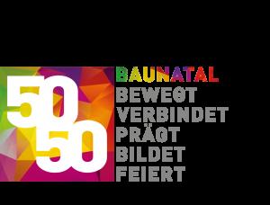 Baunatal-50-50 Logo-g alle