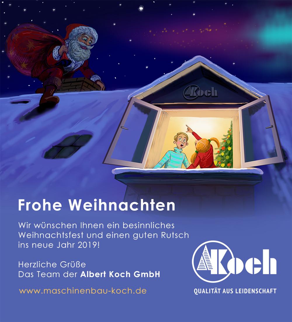 Email Frohe Weihnachten.Frohe Weihnachten 2018 Maschinenbau Koch